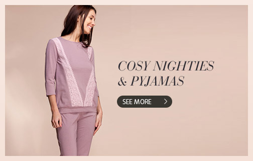 Cosy nighties & pyjamas